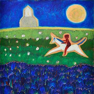 オーガフミヒロ絵画展「この世界の向こう側」
